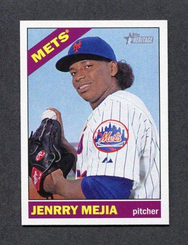 2015 Topps Heritage Baseball #009 Jenrry Mejia - New York Mets