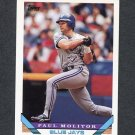1993 Topps Traded Baseball #048T Paul Molitor - Toronto Blue Jays
