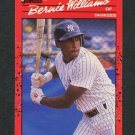1990 Donruss Baseball #689 Bernie Williams RC - New York Yankees EX