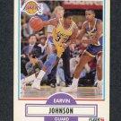 1990-91 Fleer Basketball #093 Earvin Magic Johnson - Los Angeles Lakers