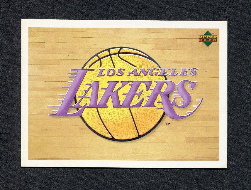 1991-92 Upper Deck Basketball International Italian #143 Los Angeles Lakers Logo
