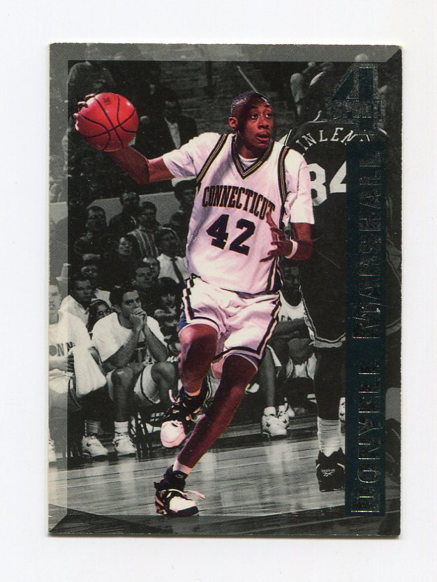 1994 Classic Four Sport Basketball BC's Insert #BC10 Donyell Marshall ExMt