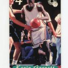 1995 Classic Basketball Phone Cards $4 #04 Kevin Garnett Serial Numbered 4265/6334
