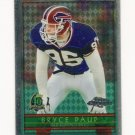 1996 Topps Chrome Football #127 Bryce Paup - Buffalo Bills