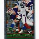 1996 Topps Chrome Football #061 Thurman Thomas - Buffalo Bills