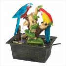 Tropicana Tabletop Fountain Splendid Pair of Parrots