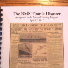 RMS Titanic Newspaper Story Booklet from April 15th, 1912