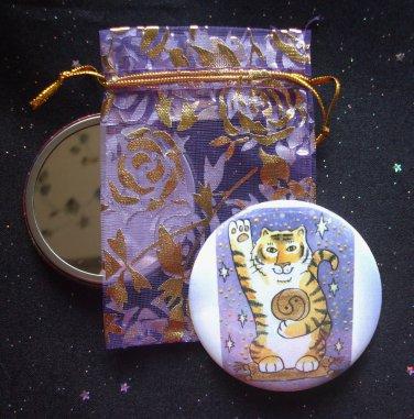 Tiger Luck Pocket Mirror & ACEO Print