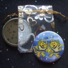 Angelic Cats with Star in Blue Pocket Mirror