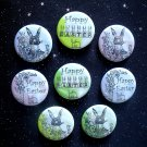 "Edwardian Easter 1.25"" Magnets Set of 8"