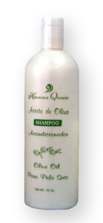 Henna Queen Aceite de Oliva - Olive Oil - Shampoo (16 oz.)