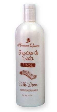 Henna Queen Gusano de Seda - Silk Worm - Shampoo (16 oz.)