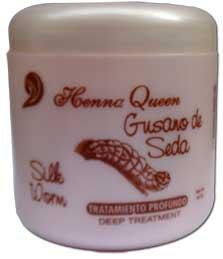 Henna Queen Gusano de Seda - Silk Worm - Deep Treatment (16 oz.)