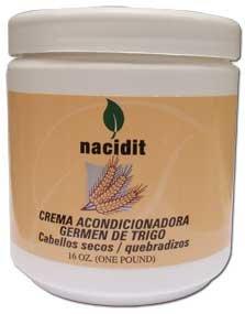 Nacidit Crema Acondicionadora Germen de Trigo - Wheat Germ Conditioning Cream (16 oz.)