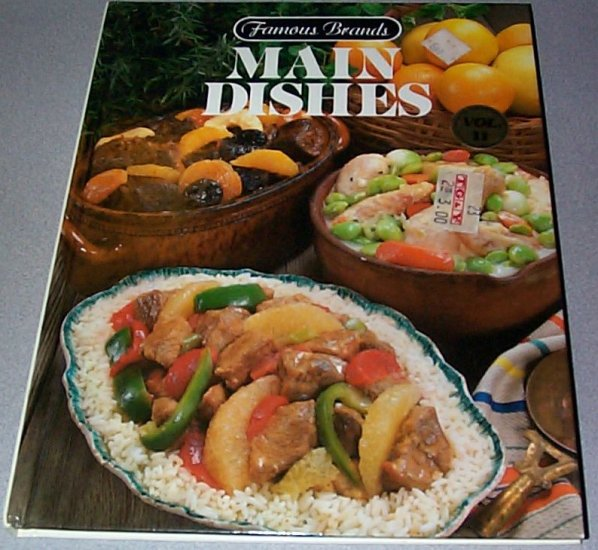 Famous Brands Main Dishes Vol II Hardcover