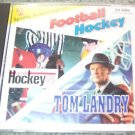World Hockey 95 & Tom Landry Strategy Football on 1 CD - old PC games