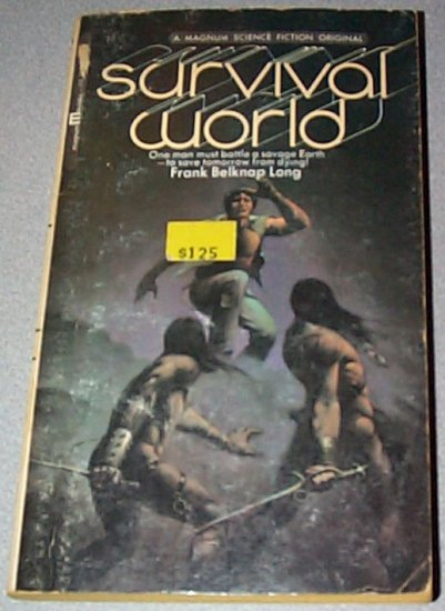 Survival World by Frank Belknap Long Paperback 1973