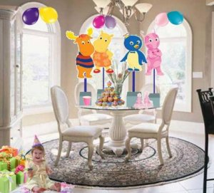 Backyardigans Birthday Party Centerpiece BOUTIQUE STYLE