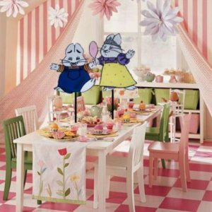 Max and Ruby Birthday Party Centerpiece BOUTIQUE STYLE