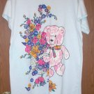 Pink bear sleepy t shirt. one size fits all and a snuggly bear.
