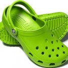 Green Childrens Crocs shoes size M-2/ W-4 New on sale!