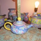 Teresa Aman Pottery Ceramic Teapot