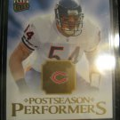 2006 Brian Urlacher Fleer Ultra Postseason Performers insert card Chicago Bears Linebacker