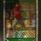 Micheal Bourn 2007 Bowman Chrome Xfractor rookie card Huston Astros