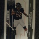 Jamar Williams 2006 Leaf Rookie & Stars rookie card Chicago Linebacker