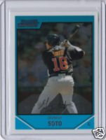 Geovany Soto 07 Bowman Chrome rookie card Chicago Cubs catcher
