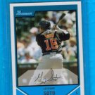 Geovany Soto 07  Bowman rookie card Chicago Cubs catcher