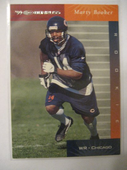 Marty Booker 99 Donruss rookie card Chicago Bears Wide Receiver