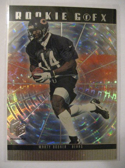 Marty Booker Upper Deck Holo GrFX Rookie card Chicago Bears