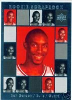 Ben Gordon 04 Upper Deck Rookie Scrapbook rookie card Chicago Bulls