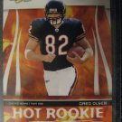 Greg Olsen 06 Score Hot Rookie card Chicago Bears