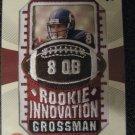 Rex Grossman 03 Upper Deck Patch Collection rookie jersey card Chicago Bears
