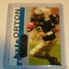 Kyle Orton 05 Sage Hit jersey rookie card Denver Broncos