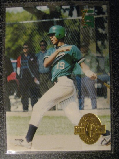 Derrek Lee 93 Classic 4 sport rookie card Chicago Cubs