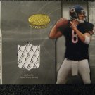 Rex Grossman 03 Leaf Certified Freshman Fabric rookie jersey card Chicago Bears