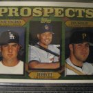 Derrek Lee Paul Konerko Ron Wright 97 Topps rookie card Chicago Cubs