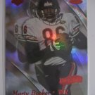 Marty Booker 99 Collectors Edge Master HoloSilver edition rookie card Chicago Bears