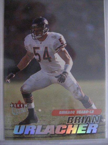 Brian Urlacher 01 Fleer Ultra base card Chicago Bears