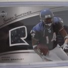 Mark Bradley 05 Upper Deck Sweet Spot Sweet Swatches jersey rookie card Chicago Bears