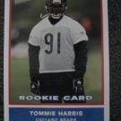 Tommie Harris 04 Topps Bazooka rookie card Chicago Bears