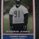 Tommie Harris 04 Topps Bazooka rookie card Chicago Bears