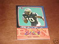 08 Earl Bennett Topps Progression Autographed rookie card Chicago Bears