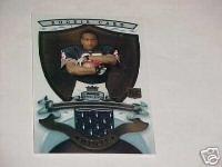 07 Garrett Wolfe Bowman Sterling rookie jersey card Chicago Bears NIU