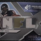 Earl Bennett 08 Upper Deck Spx dual jersey patch rookie card Chicago Bears