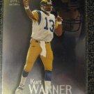 Kurt Warner 2000 Skybox Molten Metal rookie card Arizona Cardinals