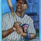 Alfonso Soriano 07 Bowman Heritage Rainbow foil Chicago Cubs
